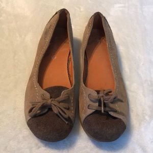 Merrell Brown Sueded Flats - Size 7